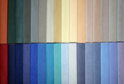 Custom Fabric and Color Choices